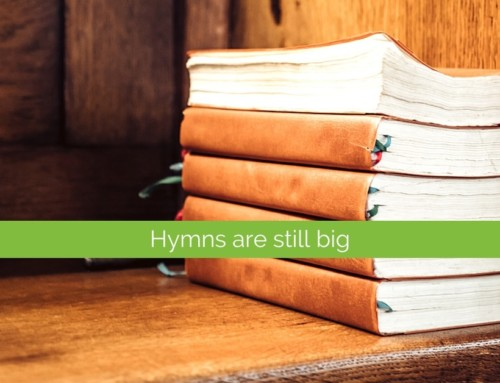 All together now: leading the hymns at a funeral service
