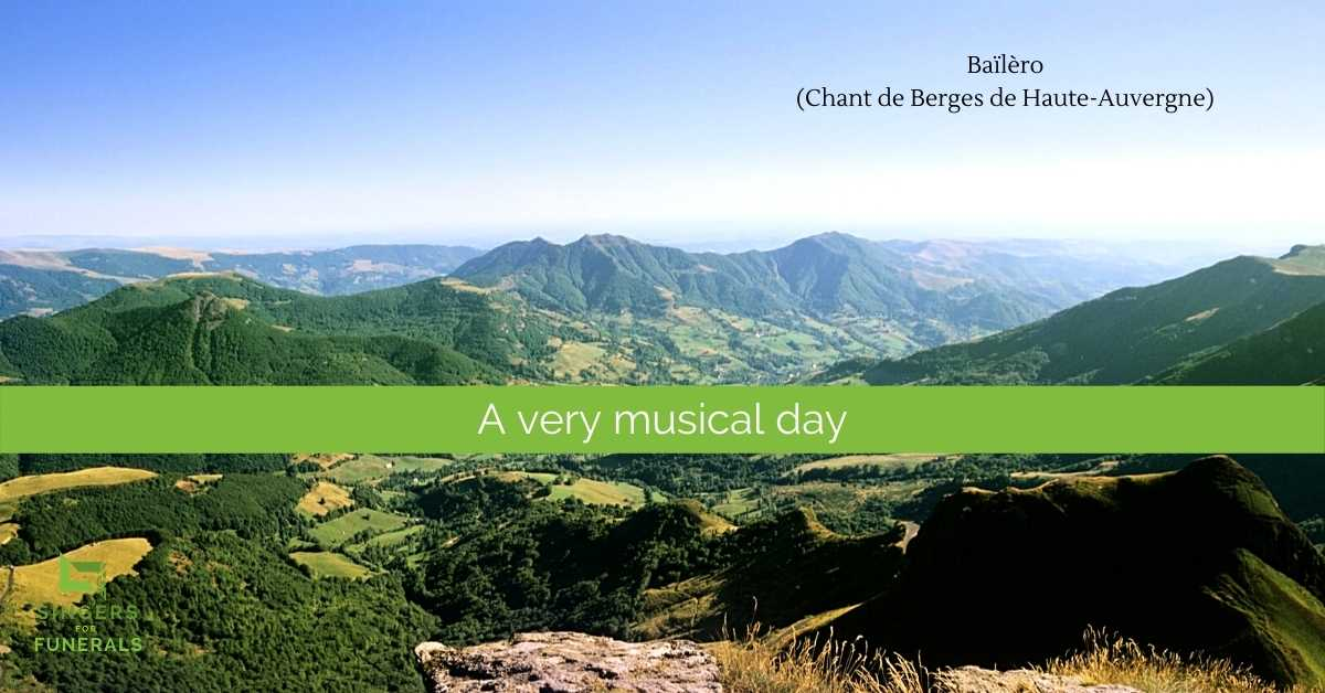 Haute-Auvergne - Bailero funeral song