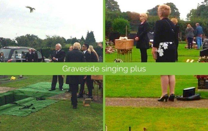 graveside funeral singer