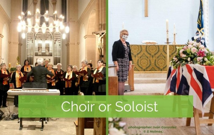 Funeral choir or funeral soloist